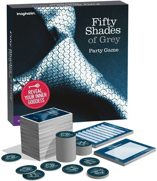 Fifty Shades of Grey Party Game - Romantic, liberating and totally fun, this is the party game that will entertain and surprise you as it reveals how you see your friends and how your friends see you