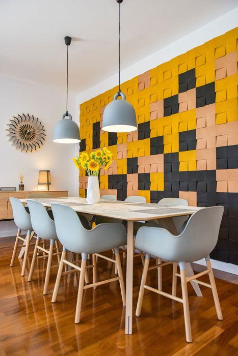 Safe Room Design: Când Un Perete Din Plută Decorativă și Alte Artificii De