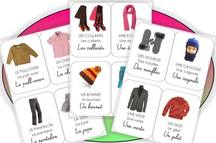Les imagiers - vêtements