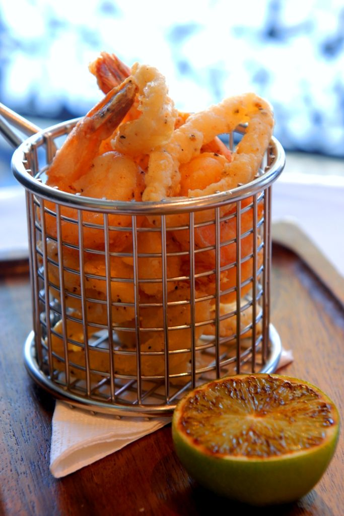 'Fritto Misto' – Lemon Pepper Calamari and Prawns, Battered Flathead and Citrus Mayonnaise - delicious! #emporiumhotel #cocktailbar #delicious   www.emporiumhotels.com.au