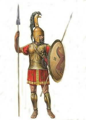 Early Phoenician soldier