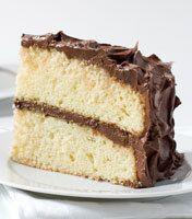 Fluffy Yellow Layer Cake