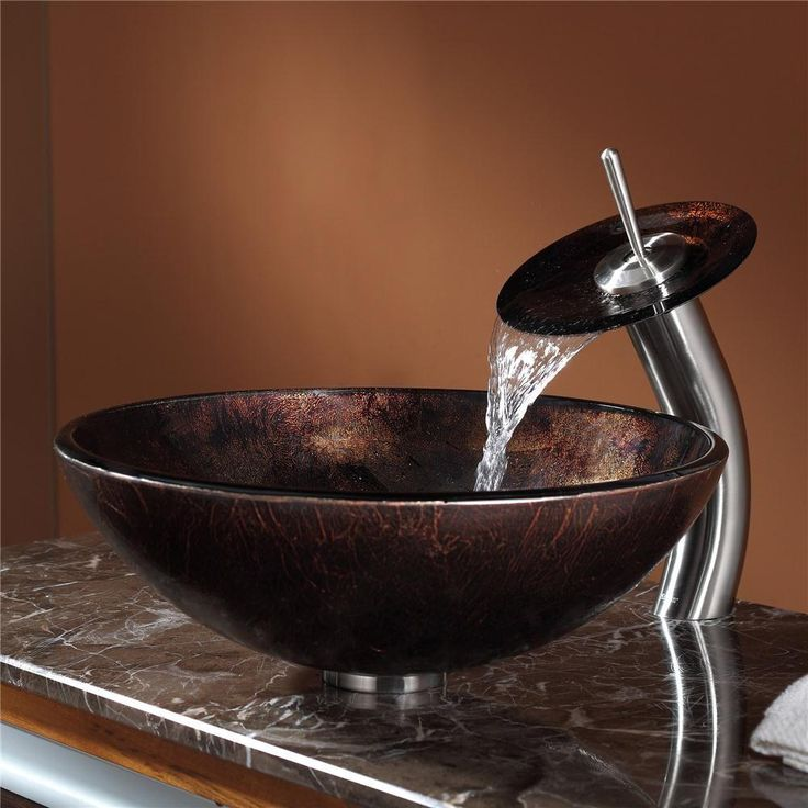 9 best sinks to choose from images on Pinterest | Glass vessel sinks ...