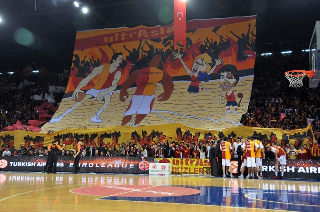 February 9th 2012 - Galatasaray Medical Park 68 - 64 CSKA Moscow