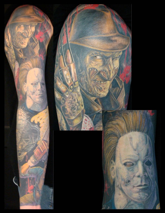 Love michael myers tatuajes pinterest horror for Michael myers tattoo