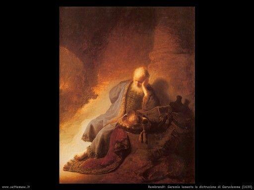 Geremia lamenta la distruzione di Gerusalemme