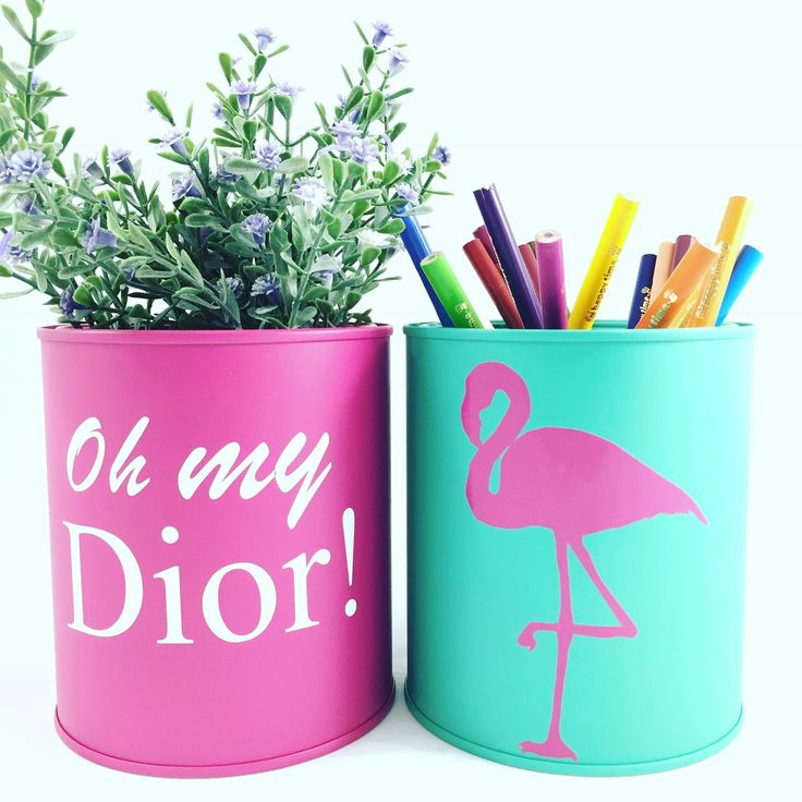 Mini latas Oh my dior and Flamingo | Casa Chic Home | Elo7