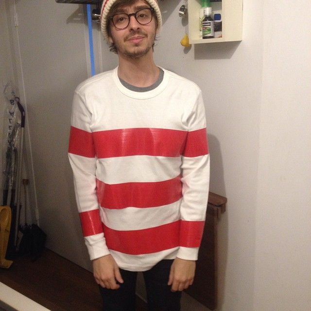 Pin for Later: 67 Wildly Creative DIY Costumes For Men Where's Waldo?