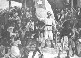 """The Cuban Ten Years War began on 10 October 1868 under the leadership of Carlos Manuel de Céspedes and seconded by a group of patriots in the sugar mill La Demajagua, calling for independence of the island. During the first few days the uprising almost failed. Céspedes attacked the small town of Yara on the 11th, from which this revolution took its name, even though the attack on Yara was a failure. The October 10 date is commemorated in Cuba as a national holiday under the name """"Grito de…"""