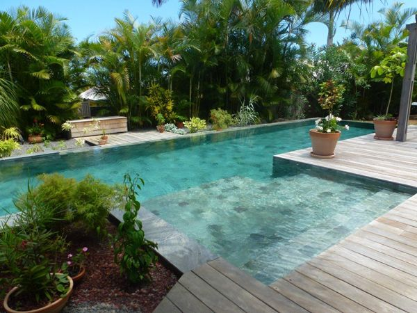 1000 images about piscine on pinterest decks sukabumi for Carrelage piscine