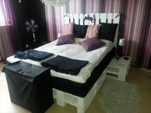 Möbel aus europaletten bett  350 besten Möbel aus Paletten Bilder auf Pinterest | Diy möbel ...