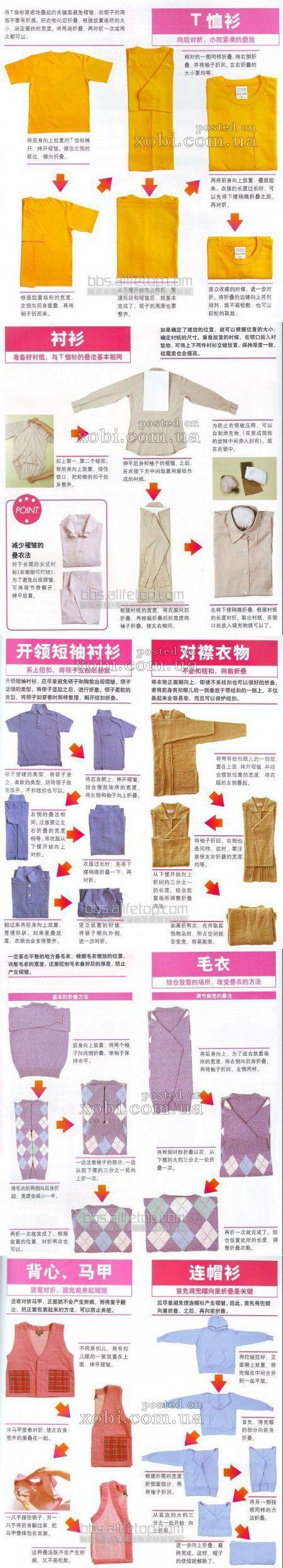 Как правильно складывать одежду и хранить вещи в шкафах - Babyblog.ru