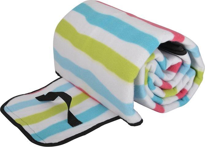 Picknickfilt, Rand 130x170 cm med plastad undersida, multifärgad, 3109012