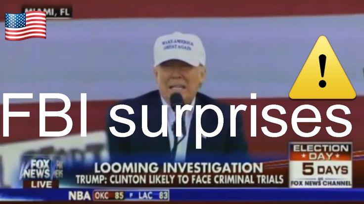 Fox & Friends 11/03/16 FBI surprises again, shares files on Bill Clinton pardon of Marc Rich 2001