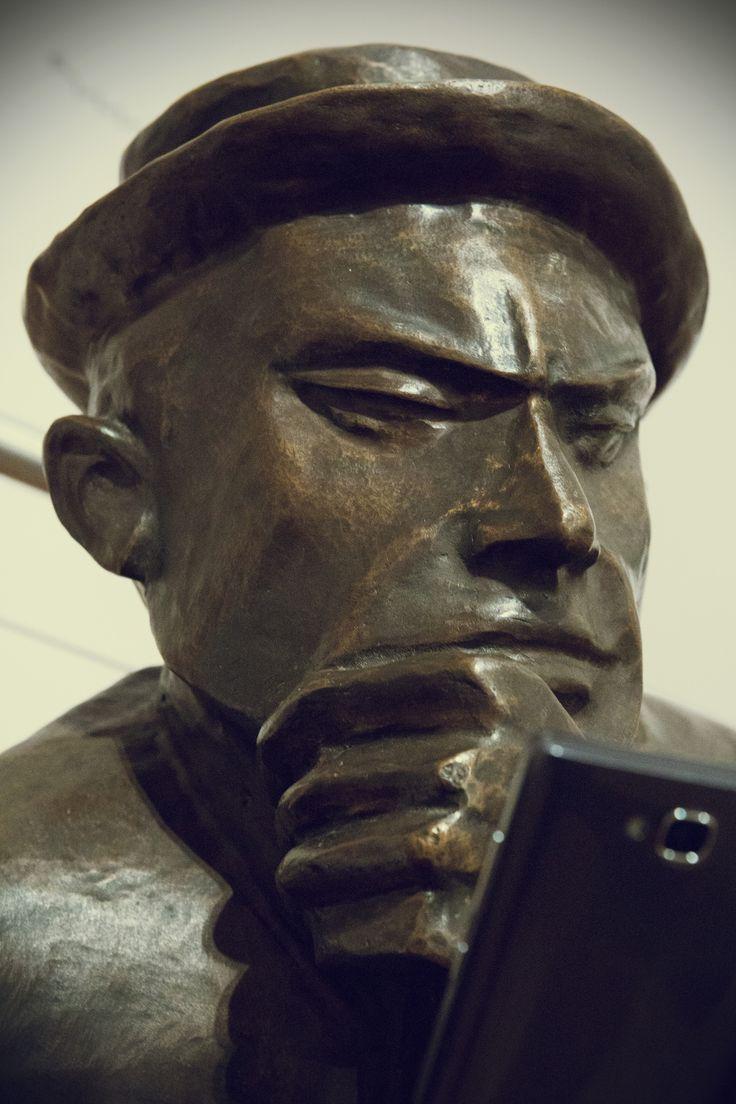 Zbigniew Pronaszko, Portret Tytusa Czyżewskiego, 1920 #museumselfie