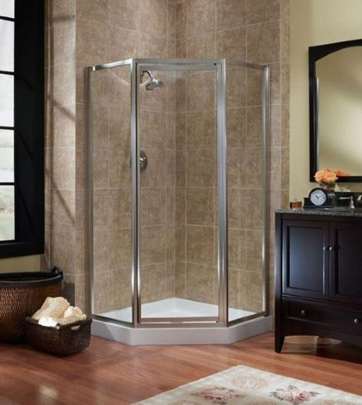 Bathroom Neo Angle Shower Stall Check more at http://www.wearefound.com/bathroom-neo-angle-shower-stall/