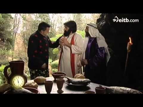 ▶ Vaya Semanita - Chicote se cuela en un banquete de Jesucristo - YouTube