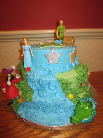 Peter Pan cake By Sleepy_Baker on CakeCentral.com