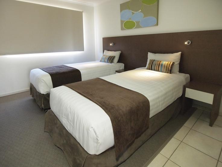 Oaks Oasis, Caloundra - 2 Bed Apt #39 - Twin Single Beds
