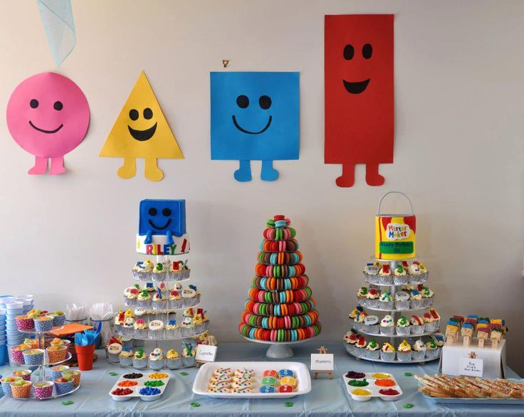 Mister Maker Birthday Party ideas
