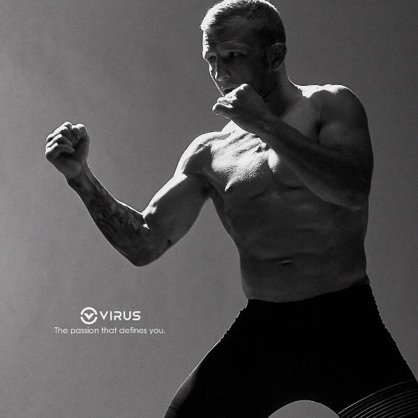 VIRUS // Starting today Virus Intl. welcomes mixed martial artist  TJ Dillashaw to the VTeam. TJ is currently a coach on the Ultimate Fighter 25 opposite his opponent for the UFC Bantamweight title fight scheduled for international fight week, July 2017. Virus has partnered with many top MMA athletes to help in designing the best clothing for training and competition. Stay tuned for future signature designs and collaborated product development with TJ // virusintl.com //