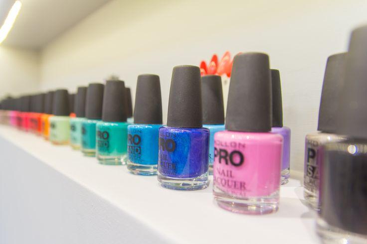 Lakiery kolorowe Mollon Pro - na tym pracujemy