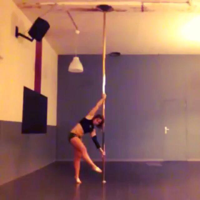 Working on ironx #poledance #ironx #polelife #polelove #marseille