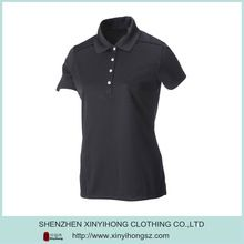 Slim Fitted Ladies Black Popular Dri Fit Quick Dry Polo  Best Buy follow this link http://shopingayo.space