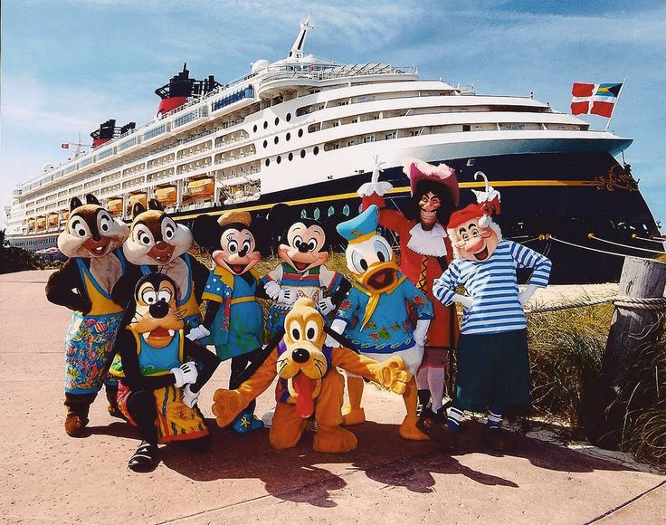 Join the Characters on the 'Disney Wonder' with thedreamtravelgroup.co.uk