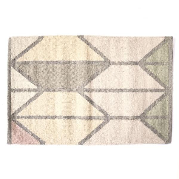 shapes rug - ice. $75, North of West
