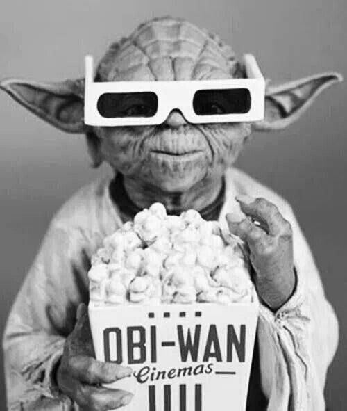 """Oh Yes, Movie Time...Star Wars Style!!!"""