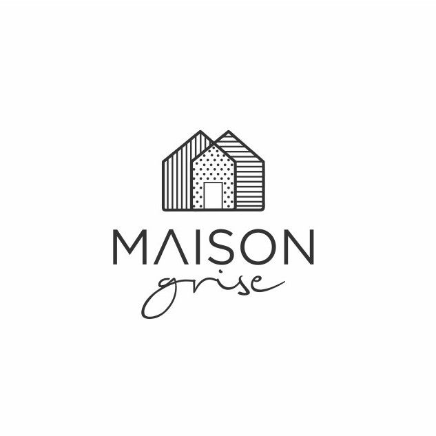 create a classic and sophisticated house logo for maison grise grey house by house logo ideaslogo design - Graphic Design Logo Ideas