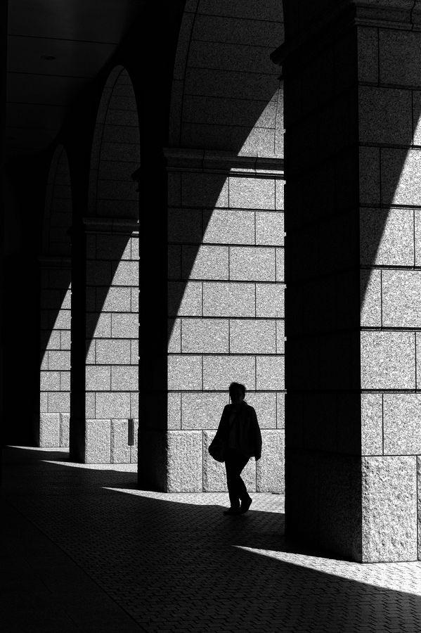 """Light and shadow"" by Mitsuru Moriguchi"