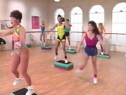 Jane Fonda s Step Aerobic - my ALL time favourite video from the 80's....Love this one!!!!!
