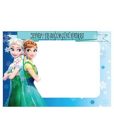 Doğum günü parti süslemeleri için Frozen Hatıra Fotoğrafı Çerçevesi ürünümüzü online olarak uygun fiyatlar ile satın alabilirsiniz