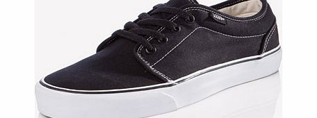 Vans 106 Plimsolls Taking inspiration from the classic old school Chukka boot Vans have used feedback from skate fans to create a grippy Chukka boot in a lower profile The updated sharp black colourway makes a casual st http://www.comparestoreprices.co.uk//vans-106-plimsolls.asp