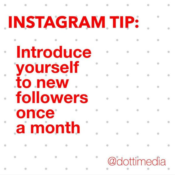 #GetInstaSavvy Tips: If you're implementing all our Insta-tips and your account is growing steadily , new users may not know your back-story and what you're all about. So take some time to say 'Hi' to the newbies once in a while and welcome them into your Insta-space