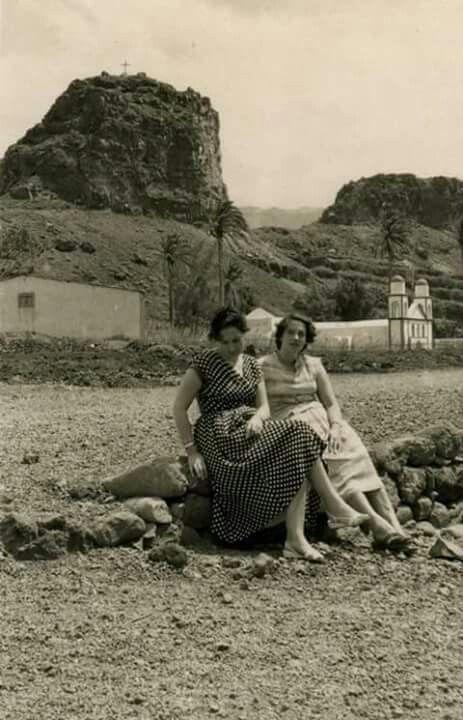 PUERTO DE AGAETE 1960