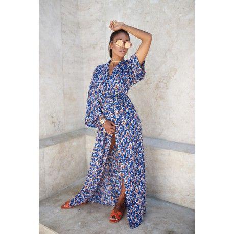 Sailor silk kimono, wmwear.com, summer wear