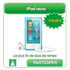 BingoSocialMedia vous fait gagner le nouvel Ipod Nano pour Noël !  @BSM_fr #socialmedia