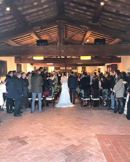 Reception in our Granaio