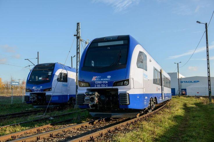 PKP IC odebrało pierwszego Flirta 5 listopada 2015 r. nastąpiło oficjalne przekazanie przewoźnikowi – PKP Intercity pierwszego elektrycznego zespołu trakcyjnego typu Flirt3 nr ED160-001 wyprodukowanego przez konsorcjum Stadler Polska – Newag.