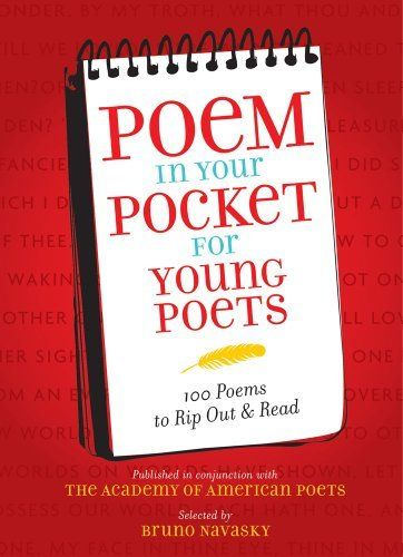 Poem in Your Pocket for Young Poets by Inc. Academy of American Poets. Save 22 Off!. $10.06. Publisher: Amulet Books (March 1, 2011). 232 pages. Publication: March 1, 2011