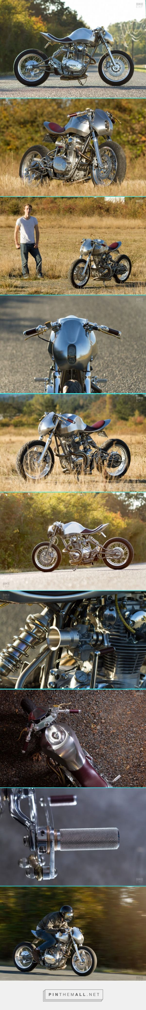 Master of Metal: Jay Donovan's amazing Yamaha XS650 | Bike EXIF - created via https://pinthemall.net