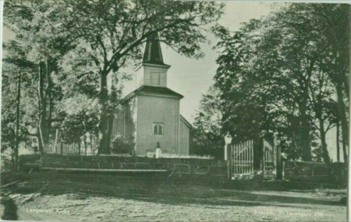 Telemark fylke Bamble kommune Langesund kirke Utg Taranger