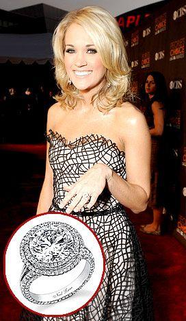 I love her ring... Neil Lane again... sense a trend?