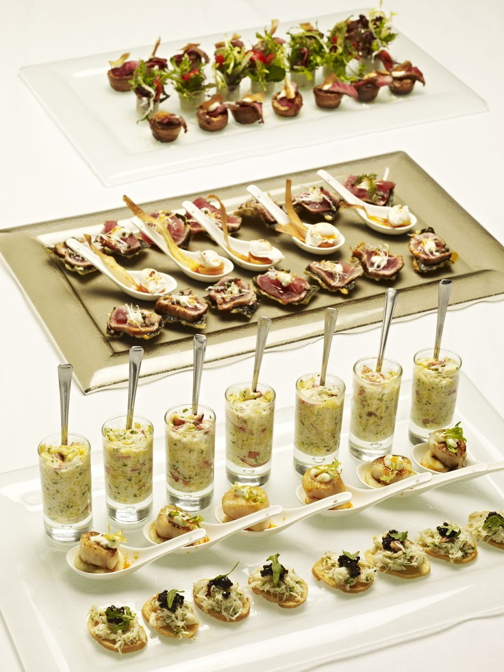 76 best canape service ware images on pinterest catering for Best canape book