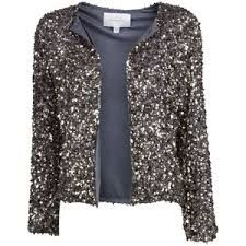 Try combining this with dark trousers or jeans and add a Glittery piece of jewellery