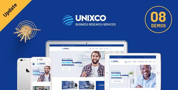 Wordpress Unixco Business Research Services Wordpress Vorlage Https Www Agentur Zweigelb De P 43485 Acco In 2020 Homepage Layout Wordpress Theme Best Practice