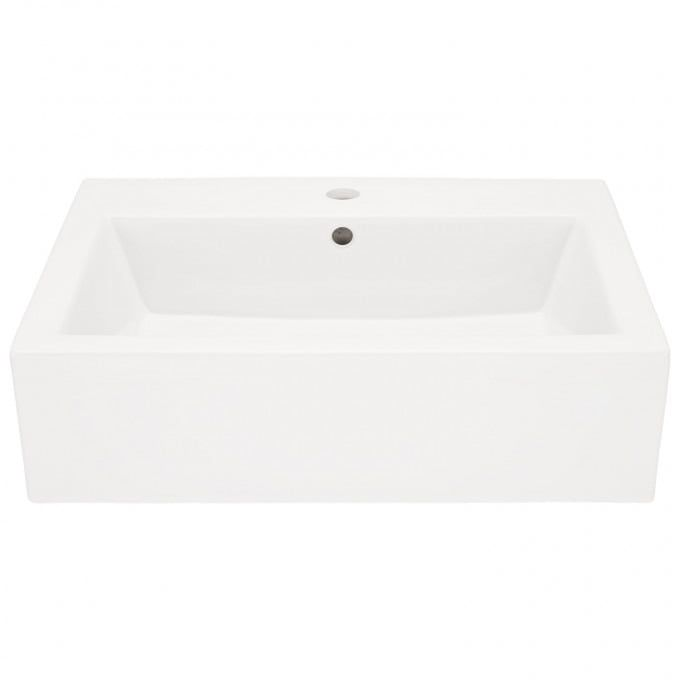 Whitshed Rectangular Porcelain Wall Mount Sink Signature